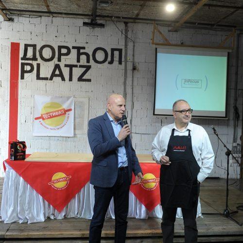 TESTIVAL 2020, svečano otvaranje, Dragan Đorđević, predsednik Asocijacije autentičnih Hedonista
