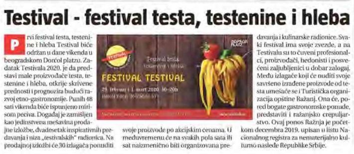 #TESTIVAL2020 u Informeru