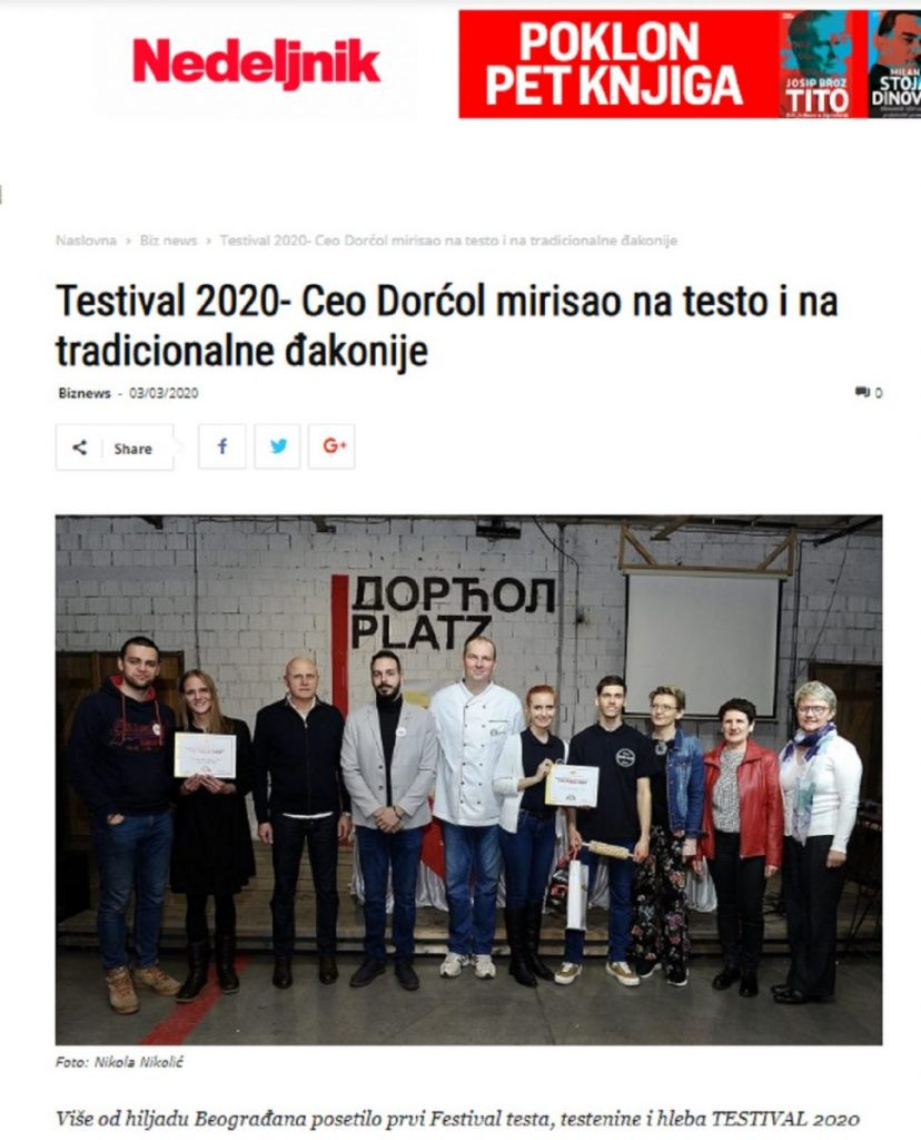 Izveštaj #TESTIVAL2020 na Nedeljnik.rs